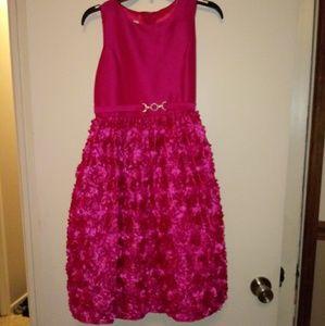 American Princess magenta party dress